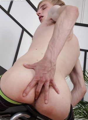 Muscle man Julian Caro,