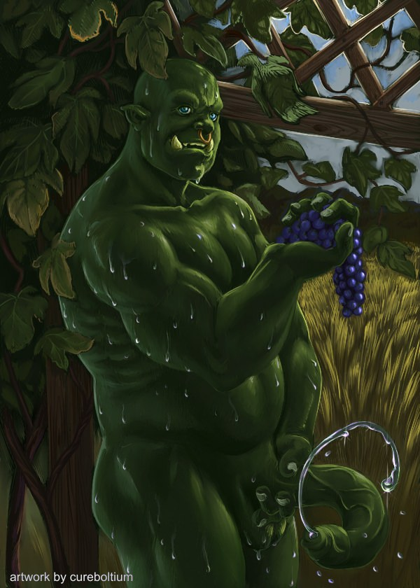 For half orc male naked confirm