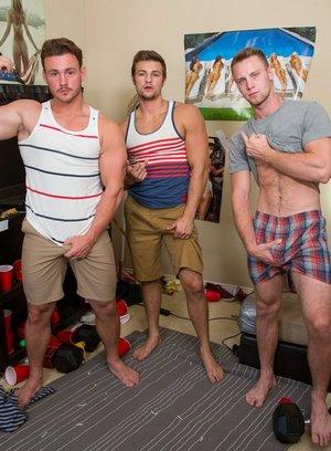 Hot Gay Brandon Evans,Trevor Long,