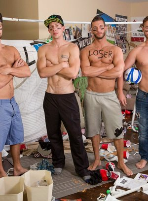 Hot Gay Charlie Paterson,Johnny Cohen,Rod Pederson,Trevor Long,
