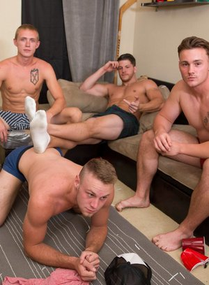 Hot Gay Trevor Long,Zane Anders,Brandon Evans,