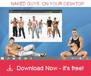 Naked guy son your desktop